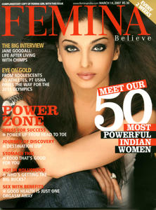 Aishwarya Rai - Femina March 14, 2007