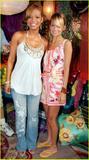 Christina Milan & Nicole Richie @ Mtv's Wave House....