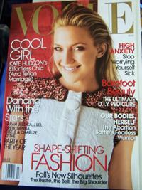 Kate Hudson in US Vogue