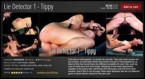 Elite Pain: Lie Detector 1 - Tippy