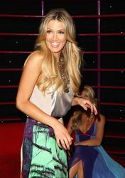 Delta Goodrem - Wax Figure Revealed @ Madame Tussauds  - April 10 2012
