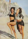 Christy Turlington with Linda Evangelista: Vogue (UK) 05/1990, ph. Patrick Demarchelier Foto 102 (������ ���������� � ����� �����������: Vogue (��������������) 05/1990, ���.  ���� 102)