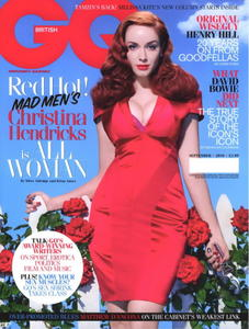 Christina Hendricks sexy GQ Magazine