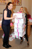 Michelle Trachtenberg & Kristin Chenoweth at the Breast Cancer Awereness charity in NYC x05 HQ
