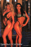 Tylene Buck vs Cori Nadine: Fitness model contest