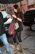 Miley Cyrus Leggy Candids