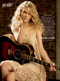 Taylor Swift in the latest got milk print advertisement - Hot Celebs Home