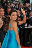 Eva Longoria shows cleavage in blue dress at Opening ceremony & screening of Blindness at the 61st edition of the Cannes Film Festival in Cannes,France