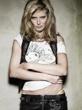 Heidi Klum white top is painted on Foto 626 (����� ���� ����� ���� ���������� �� ���� 626)